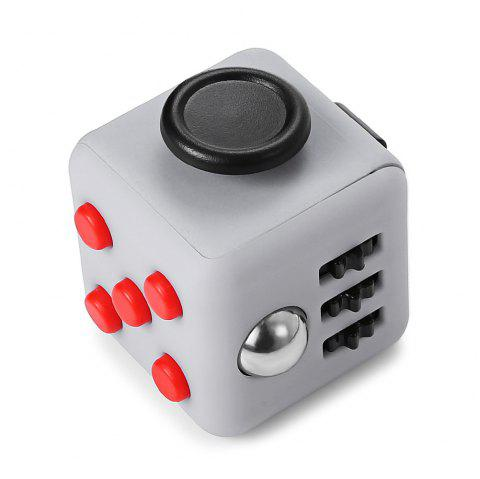 Minismile Updated Version Release Stress Fidget Dice Cubic Toy for Focusing - multicolor H