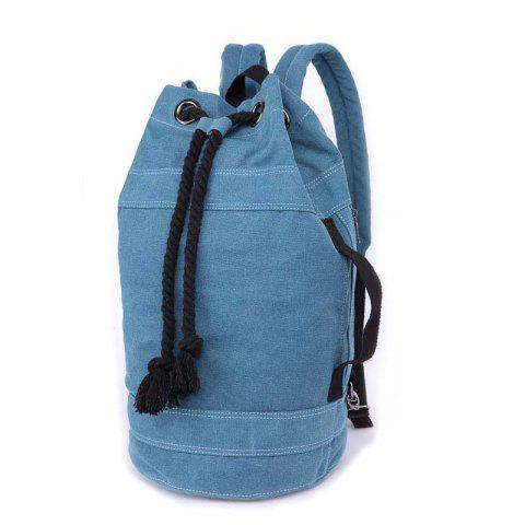 Men And Women Lovers Bag Fashion Casual Bag Backpacks Basketball Bags - SKY BLUE S