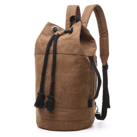 Men And Women Lovers Bag Fashion Casual Bag Backpacks Basketball Bags - COFFEE L