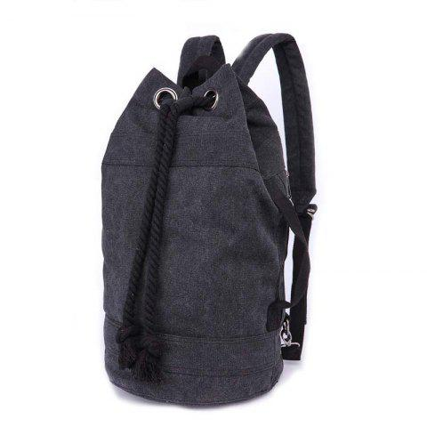 ZUOLUNDUO Men And Women Lovers Fashion Casual Backpacks Basketball Bags - BLACK S