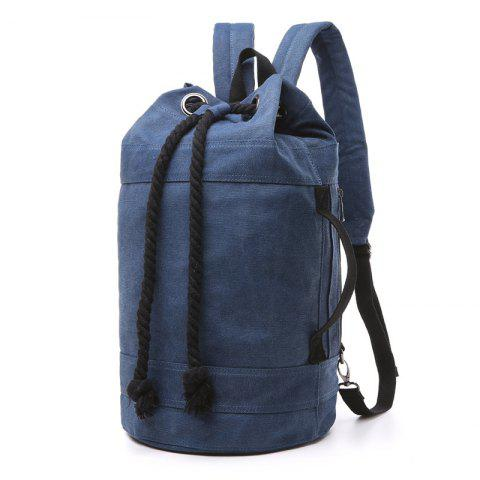 ZUOLUNDUO Men And Women Lovers Fashion Casual Backpacks Basketball Bags - DEEP BLUE S