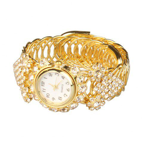 Nouvelle montre de bracelet de diamant de mode - c - Or