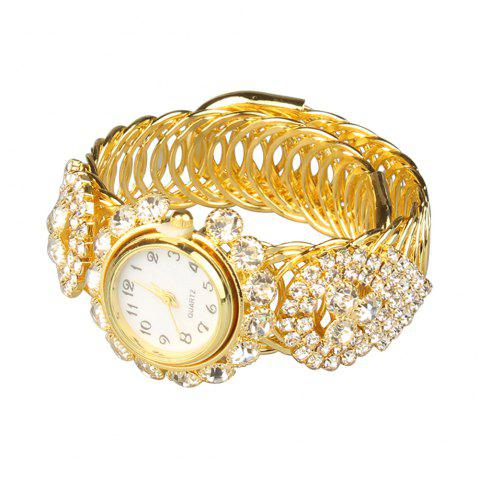 Nouvelle montre de bracelet de diamant de mode - d - Or