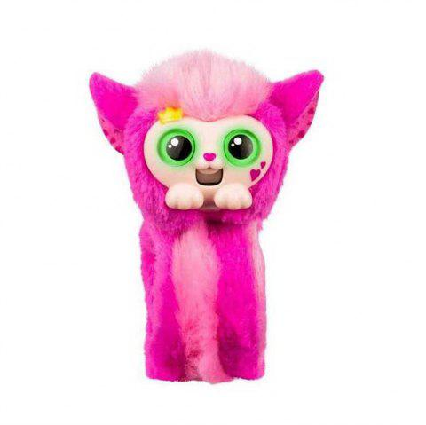 Little Live Pets Wrapples Induction Wrist Monkey Plush Toys for Children - RED