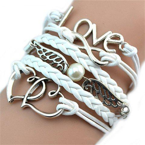 Temperament Fashion Women's  Bracelet - WHITE