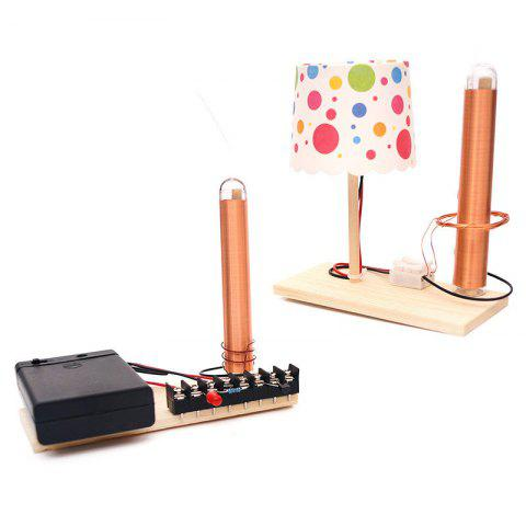 DIY Wireless Transmission Power Experiment Children Science Education Toy - multicolor