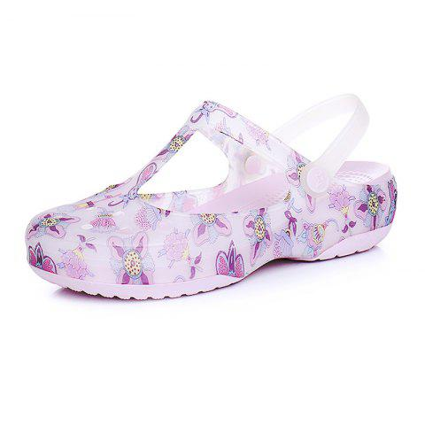 Leisure Beach Women's Cave Cool Slippers - PINK EU 39