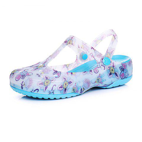 Leisure Beach Women's Cave Cool Slippers - BLUE EU 35
