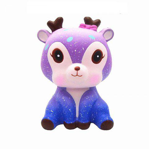 Slow Rebound Deer Stress Relief Toys - MAUVE