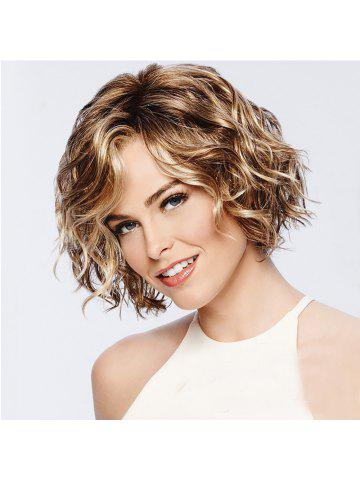 Stylish Vitality Lady Fluffy Short Curly Hair High Temperature Wig 825f62289