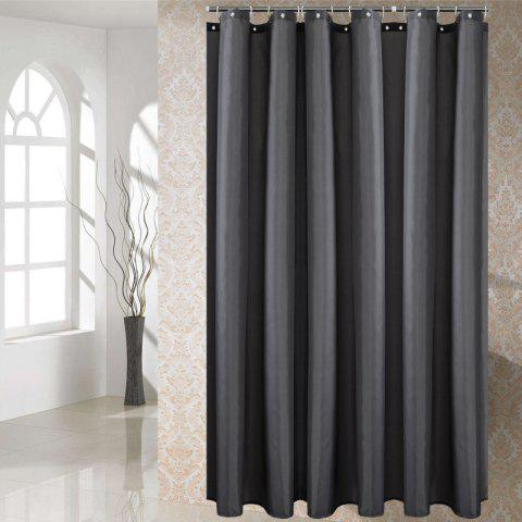 Solid Color Shower Curtain Waterproof Bathroom Partition