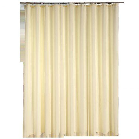 Jacquard Cloth Shower Curtain Beige Thick Waterproof and Mildew - multicolor 1.8*1.8M
