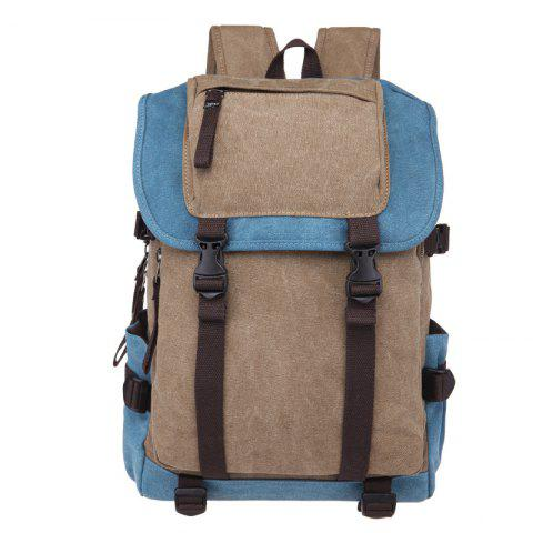 Fashion Matching Canvas Backpacks For Women - multicolor B