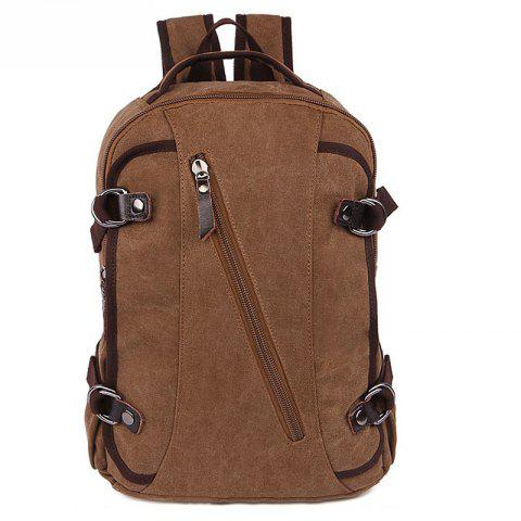 Rucksack Current Backpack For Both Men And Women Student Bags - COFFEE