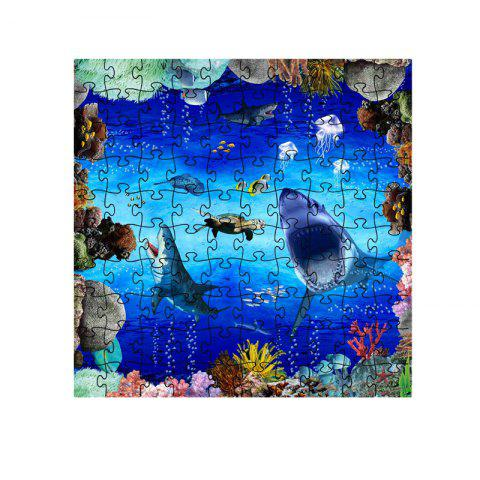 Seaworld Series jigsaw Puzzle Toy - multicolor A