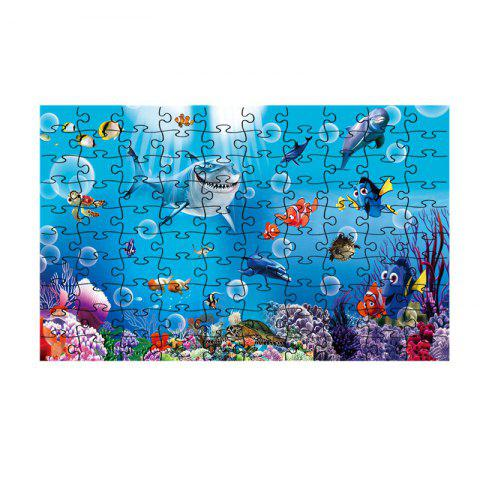 Seaworld Series jigsaw Puzzle Toy - multicolor N