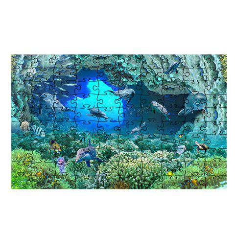 Seaworld Series jigsaw Puzzle Toy - multicolor L