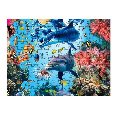 Seaworld Series jigsaw Puzzle Toy - multicolor K