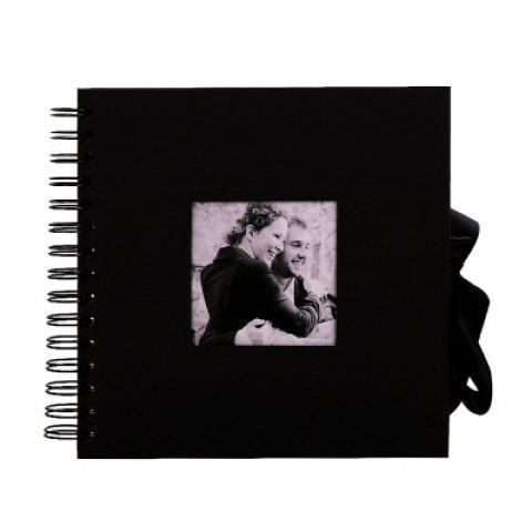 YEDUO Scrapbook Album Baby Memory Book Photo Storage - BLACK