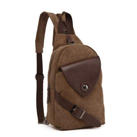New Fashion Student Backpack Travel Backpack - COFFEE
