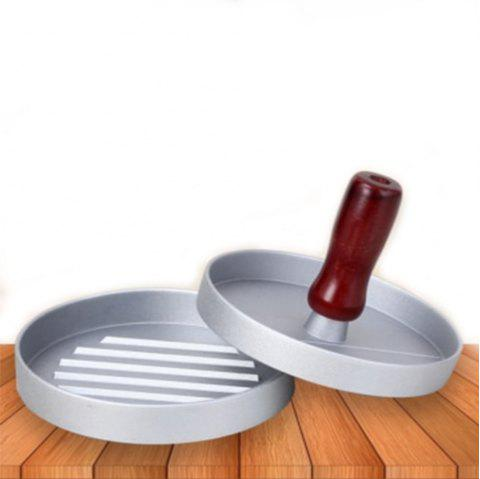 Kitchen Round Burger Meat Tools - RED