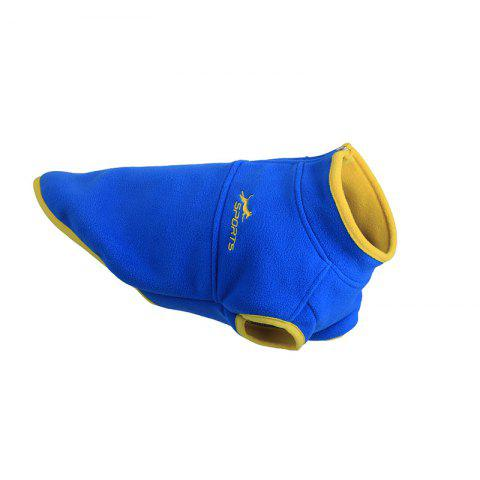 New Pet Dog Clothes in Autumn and Winter - BLUE M