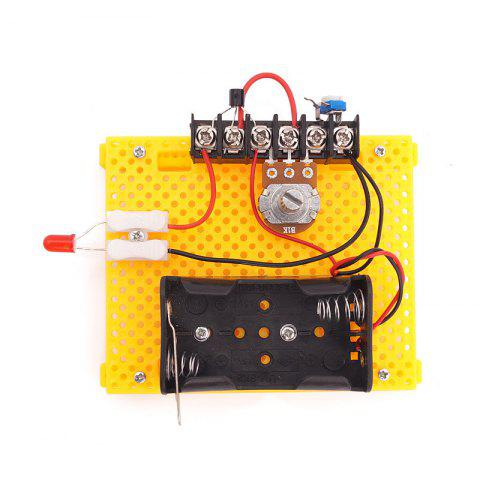 DIY Polarless Dimmer Children Science Education Toy - multicolor