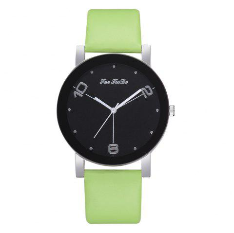 The New Contracted Temperament Lady Quartz Watch Black Picture Frame Business - GREEN SNAKE