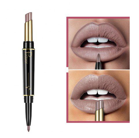 Pudaier Matte Lipstick Wateproof Double Ended Long Lasting Lipstick Lip Makeup - 001