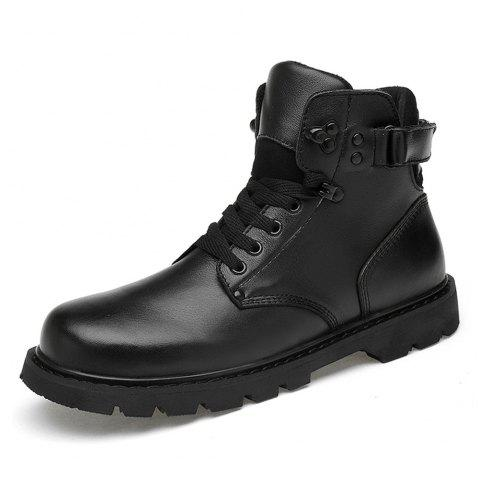 Fashion Personality Tide Boots - BLACK EU 37