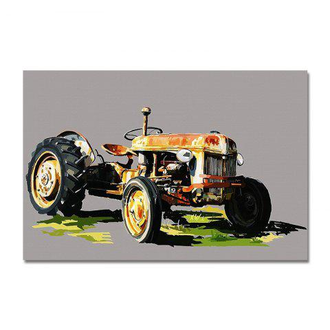 DYC Retro Kart Interesting Print Art - multicolor