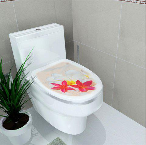 Toilet Sticker Animal World Flamingo Toilet Sticker Home Decoration Stickers - multicolor G 32*39