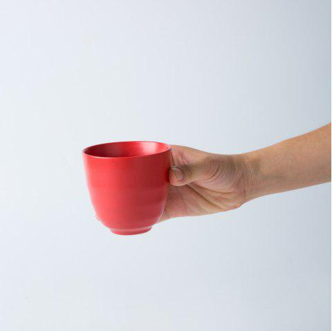 Modern Style Ceramic Cup Drinkware tea cup - RUBY RED
