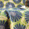 Blooming Daisy Pattern Blanket Sofa Decorative Slipcover Travel Blanket - multicolor A 90*180CM