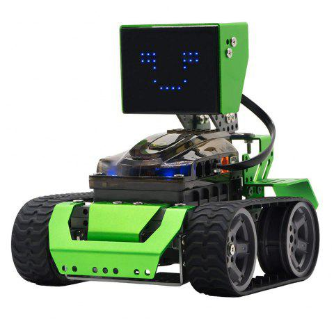 Robobloq 6 in 1 Robot Kit Robotics STEM Education Coding  Qoopers (174 pcs) - GREEN