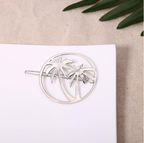 Tropical Coconut Hair Accessories - SILVER 1PC