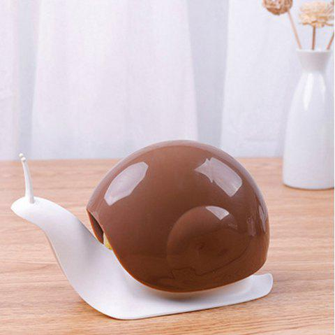 New Cartoon Snail Push-type Dispensers hands Lotion Bottle - COFFEE