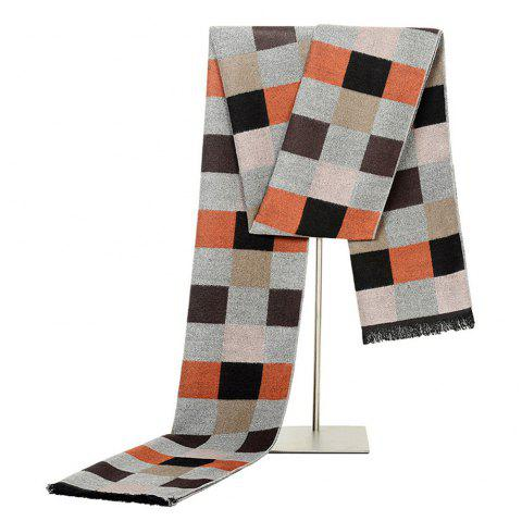 New Fashionable Men Scarf M-NSNJ0031 - CAMEL BROWN