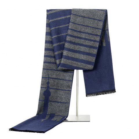 New Fashionable Men Scarf M-NSNJ0003 - BLUE