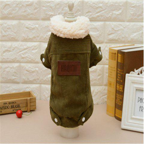 Lamb Velvet Jacket Cat and Dog Clothes Quality Pet Clothes - multicolor A OVERSIZE