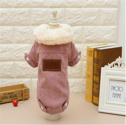 Lamb Velvet Jacket Cat and Dog Clothes Quality Pet Clothes - multicolor B OVERSIZE