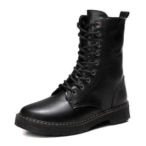 Classic Lovers Casual Fashion Boots - BLACK EU 43