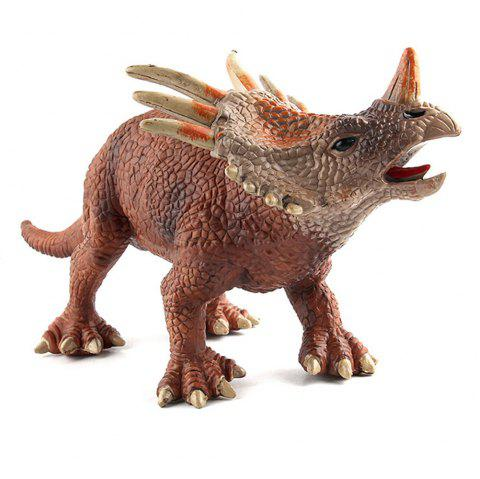 Dinosaur Figures Realistic Dinosaur Model Toys Prehistoric Animal Collectible - multicolor E 1PC