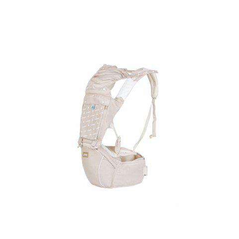 Multifunctional Baby Belt Front Holding Waist Bench for Newborns in All Seasons - WARM WHITE 1PC