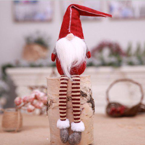 Christmas Decorations Faceless Dolls - ROSSO RED REGULAR