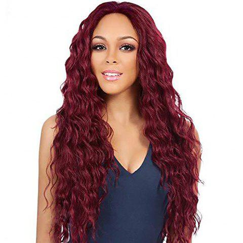 Long Curly Wigs for Fashionable Women - multicolor A 1 SET
