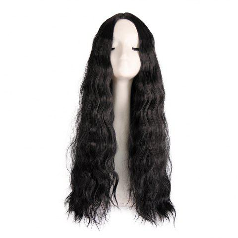 Long Curly Wigs for Fashionable Women - multicolor C 1 SET