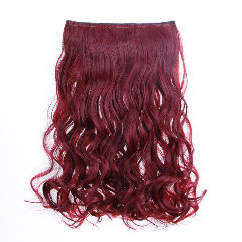 Traceless Hair Piece Chemical Fiber Curtain Curl Piece - multicolor F 1 SET