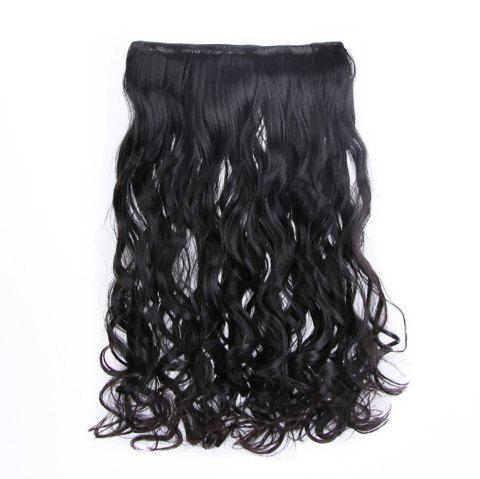 Traceless Hair Hair Piece Curl Curtain Fibre chimique - multicolor A 1 SET