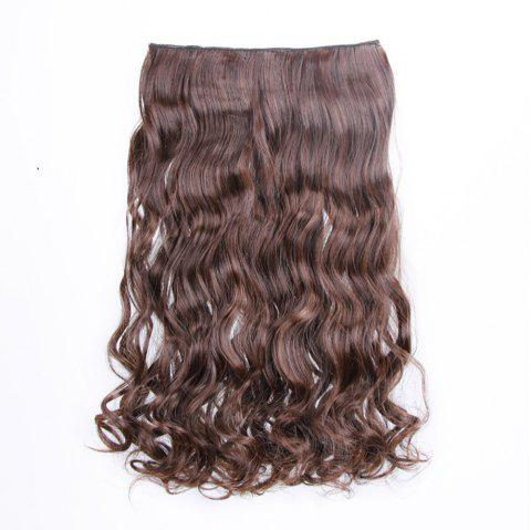 Traceless Hair Piece Chemical Fiber Curtain Curl Piece - multicolor B 1 SET